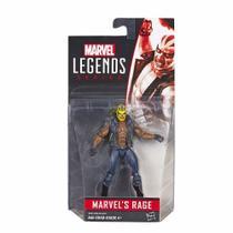 Boneco Articulado Avengers Legends Marvels Rage 11cm - Hasbro - B6914/B6356 -