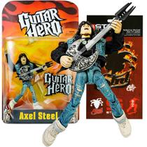 Boneco Articulado Axel Steel Guitar Hero Game Mcfarlane Toys -