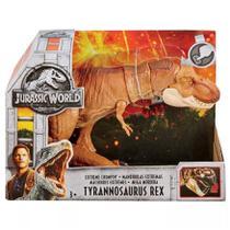 Boneco Articulado Jurassic World T Rex Mega Mordida - FTT21 - Mattel -