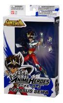 Boneco Articulado Seiya de Pegasus - Saint Seiya Cavaleiros do Zodíaco - Anime Heroes - Bandai - Ban Dai