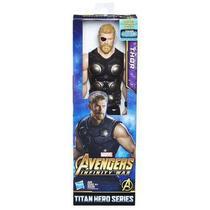 "Boneco avengers f 12"" titan thor - Hasbro"