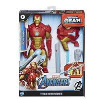 Boneco Avengers F12 Titan H BLAST Gear Homem de Ferro Hasbro E7380 14987 -