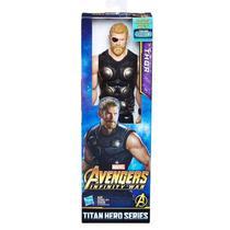 Boneco Avengers Figura 12 Power FX Thor - E1424 - Hasbro -