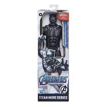 Boneco Avengers Marvel Titan Hero Gear 30 cm - Pantera Negra - Hasbro