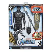 Boneco Avengers Titan 12 Blast Gear Pantera Negra - E7388 - Hasbro -