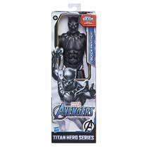 Boneco Avengers Titan 12 Blast Gear Pantera Negra - E7876- Hasbro -