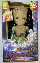 Boneco Avengers Titan Groot 30cm Vingadores -