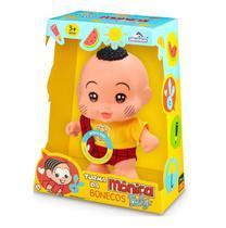 Boneco Baby Cascão - Turma Da Monica Fala Frases Adijomar - Adijomar Brinquedos