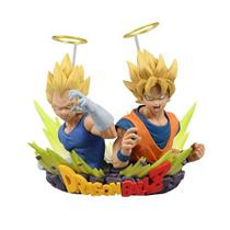 Boneco Bandai Dragon Ball Goku + Vegeta - Volume 2 -original