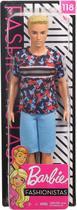Boneco - Barbie - Ken Fashionista - Loiro - 118 MATTEL -