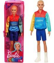 Boneco Barbie Ken Fashionista Loiro 163 Dwk44/grb88 - Mattel -