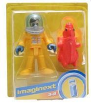 Boneco Básico Imaginext - Astronauta e Alien - Fisher Price -