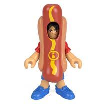 Boneco Basico Imaginext - Homem Hot Dog MATTEL - Fisher Price
