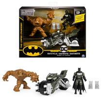 Boneco Batman Dc - Batimoto - Batman VS Clayface - Spin Master -