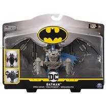 Boneco Batman Dc Transformando a Armadura - Spin Master -