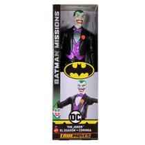 b7236958e3dfc Boneco Batman Missions Truemoves 30cm - Coringa - Mattel