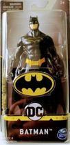 Boneco Batman Roupa Preta 15cm - DC Comics  - Spin Master -