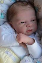 Boneco bebê Reborn Lucas molde importado autentico - Não Informada