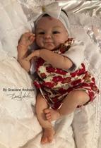Boneco bebê Reborn Michelle 2 molde importado autentico - Não Informada