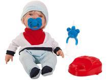 Boneco Bebezinho Real Xixi com Acessórios - Roma Brinquedos