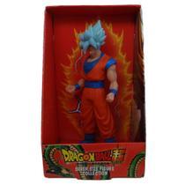 Boneco Boneco Goku Super Saiyajin Blue Articulado Dragon Ball Z - Super Size Figure Collection