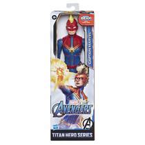 Boneco Capita Marvel Titan Hero Blast Gear da Hasbro E7875 -