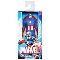 Boneco Capitão América 15cm - Avengers Marvel - Hasbro -