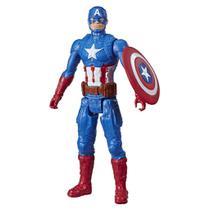 Boneco Capitao America Titan Hero Blast Gear E7877 - Hasbro - Avengers