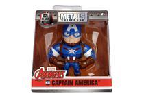 Boneco Captain America - Capitão América - Metal Figures - Vingadores - Jada -