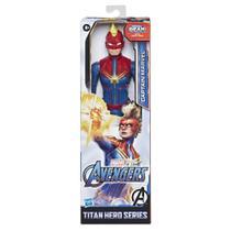 Boneco Captain Marvel Marvel Avengers Titan Hero Series - Hasbro