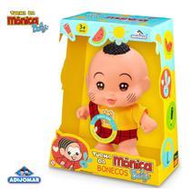 Boneco Cascao Baby Turma Da Monica C/ Som - Adijomar - ADJOMAR