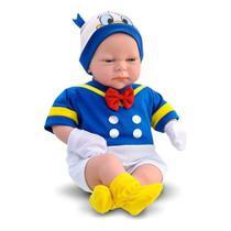 Boneco Classic Dolls Recem Nascido Pato Donald ROMA JENSEN -