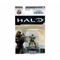 Boneco Colecionável Nano Metalfigs Halo Ms2 Master Chief Dtc -