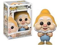 Boneco Colecionável Pop Disney Snow White - Happy 10,5cm Funko
