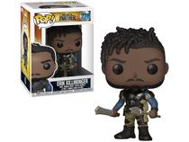 Boneco Colecionável Pop Marvel Black Panther - Erik Killmonger 10,5cm Funko