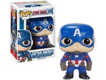 Boneco Colecionável Pop Marvel  - Capitain America 3 10,5cm Funko