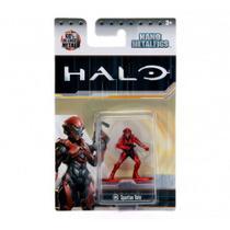 Boneco Colecionável Spartan Vale Ms6 Nano Metalfigs Halo Dtc -