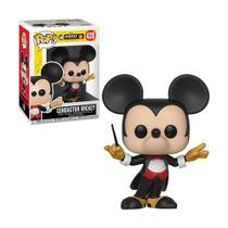 Boneco Conductor Mickey 428 Disney - Funko Pop! -