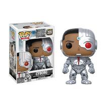 Boneco Cyborg 209 DC Liga da Justiça - Funko Pop! -
