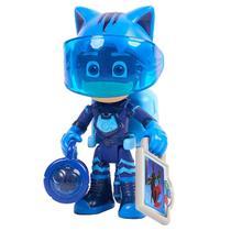Boneco de Ação - 9 Cm - PJ Masks - Heróis da Aventura Lunar - Menino Gato - Dtc -