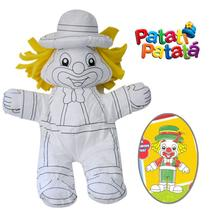 Boneco de Colorir Lavável - Patati Patatá - Patatá - Conthey -