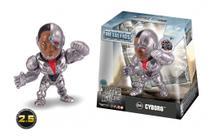 Boneco de Metal Liga da Justiça - Cyborg 6cm 4735/M544 - Dtc -