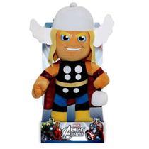 Boneco De Pelúcia Antialérgica Thor Os Vingadores - Buba -