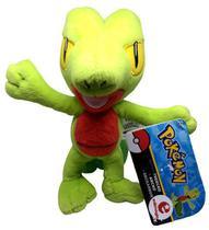 Boneco De Pelúcia Personagem Pokémon Treecko Arcko Geckarbor - Original Tomy -