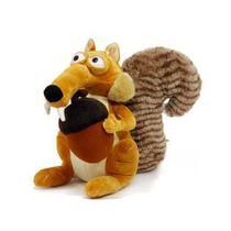 Boneco de Pelucia Scrat o Esquilo da Era do Gelo - Mundo Da Pelúcia