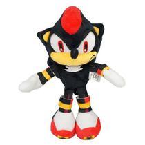 Boneco De Pelúcia Shadow Sonic The Hedgehog Pronta Entrega -