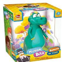 Boneco de Vinil Dino Argo - Mundo Bita 2975 - Lider -