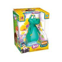 Boneco De Vinil Dino da Familia Bita - Lider 2715 -