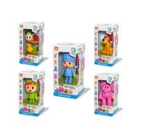 boneco de vinil familia pocoyo nina elly pato loula com 05 bonecos - Cardoso Toys