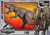 Boneco de Vinil Gigante Dinossauro T-Rex Jurasic World 60cm - Tcs
